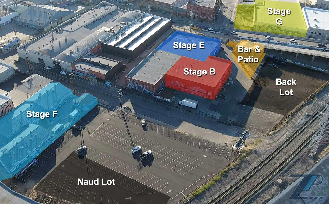 Zynderia Studios, Stages, Locations, Los Angeles, Chinatown